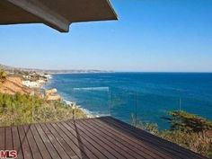 Tour #BradPitt's Malibu Home for Sale: Deck>> http://www.frontdoor.com/photos/tour-brad-pitts-malibu-home-for-sale?soc=pinterest