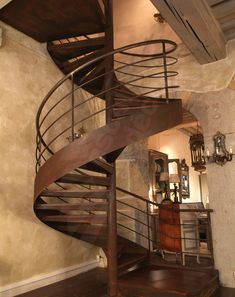Escaliers on pinterest 228 pins for Deco escalier interieur