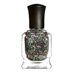 show 'em your sparkle with Deborah Lippmann nail color!  The glitter inside is big and bold.