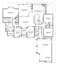 House plans on pinterest floor plans house plans and for House plans with hearth room