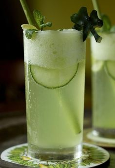 Honeydew, Cucumber & Mint Mojito