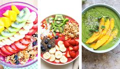 Because sometimes, all you want for dinner is a big bowl of smoothie goodness: 11 Smoothie Bowl Recipes to Whip Up for Dinner | Be Well Philly