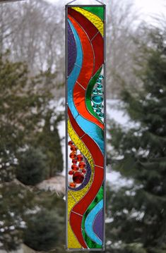 Sparkling Rainbow Suncatcher by JoannePaoneGill on Etsy, $78.00