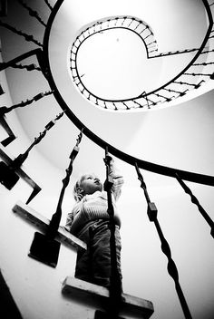 famili pet, animals, stairway, black white photography, pet anim