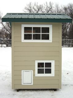 Townhouse for Your Dog >> http://www.diynetwork.com/outdoors/meet-the-winners-of-the-best-doggone-doghouse-contest/pictures/index.html?soc=pinterest#