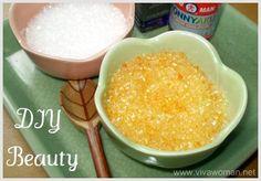 Homemade Salt Scrubs w/Epsom Salt