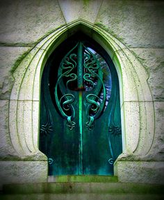 Some of the most beautiful doors in the world are mausoleum doors.  Especially the mauseoleum's of wealthy individuals like here in Laurel Hill Cemetery, Philadelphia, Pennsylvania.