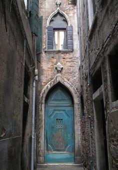 doorway  in Venice, Italy.