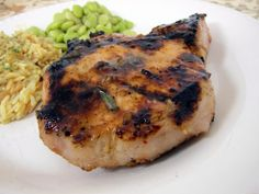 Italian Grilled Pork Chops | Plain Chicken