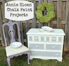Annie Sloan Chalk Paint Projects Paris Grey