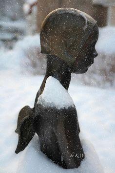 Snow Angel in Norway