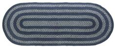 "Soldier Blue Jute Rug/Runner Oval 27x60"" by Victorian Heart. $24.15. See Product Description below for more details!. Product measurements and additional details listed in title and/or Product Description below.. All cloth items in our collections are 100% preshrunk cotton. All braided items (like rugs, baskets, etc.) are 100% jute. High end quality and workmanship!. Extensive line of matching items and accessories available! (Search by Collection name). Constructed of braid..."