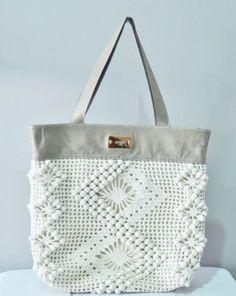 beautiful crochet bag