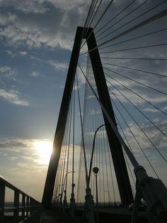 Ravenel Bridge, 2007. By J. Barrineau