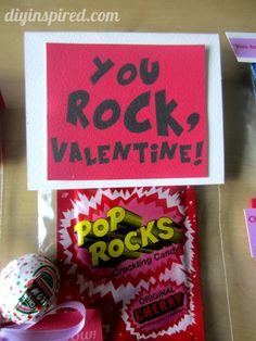 DIY Candy Valentines with a Free Printable