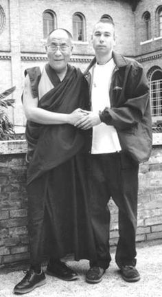 Beastie Boy Adam Yauch & HHTDL,  Adam will be missed. Loved and Pinned by www.downdogboutique.com to our Yoga community boards