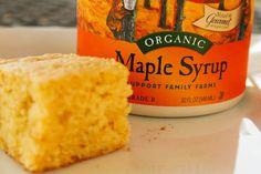 Sweet moist cornbread....