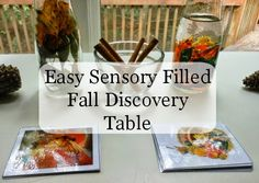 Early Fall Sensory Discovery Table