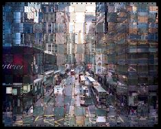 Photographs Made from Woven Film Strips by Seung Hoon Park http://www.thisiscolossal.com/2014/02/photographs-made-from-woven-film-strips-by-seung-hoon-park/