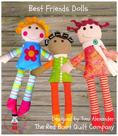 Best Friends Doll Pattern