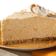 Creamy Pumpkin Pie (Easy; 8 servings) #pumpkin #pie