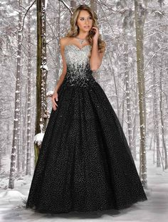 Disney Forever Enchanted Prom 35515 The fabric in this Disney Forever Enchanted prom dress is Tulle+Sequins. #prom
