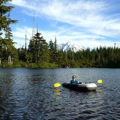 9. Explore by water (kayaking, canoeing, cruise ships. Water-caching!