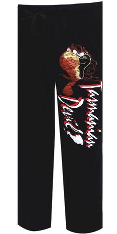 WebUndies.com Looney Tunes Tasmanian Devil Taz Lounge Pant