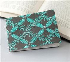 Create this embossed journal to jot down everything that is on your mind!
