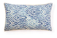 Jaipur 12x20 Pillow, Blue on OneKingsLane.com
