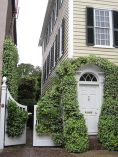 Historic Charleston via Henhurst Interiors