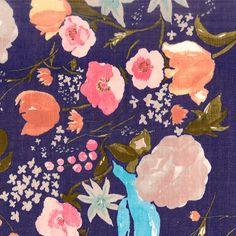 Nani Iro Kokka Fuccra rakuen Japanese Fabric by MissMatatabi
