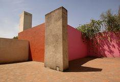 Stucco & terracotta...Luis Barragan