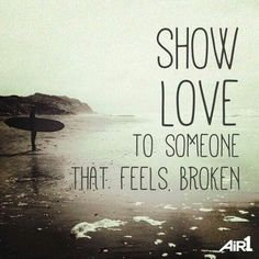 Brokenness  is so painful