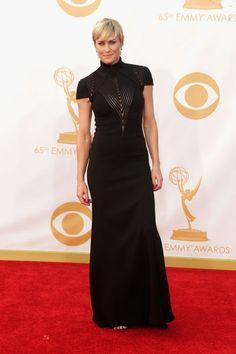 Emmy Awards 2013 - Robin Wright in Ralph Lauren.