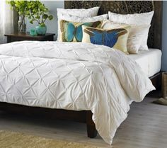 #InspiredGreenLiving - Tuck-Me-In-Bedding made from organic cotton.