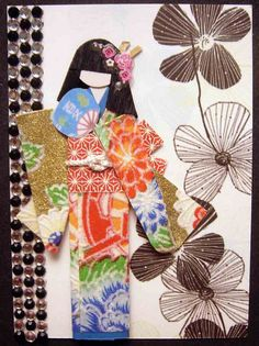 ATC1178 - Burst of color, by the very talented Tengds  #art #journal #mixed_media #collage