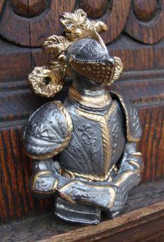 Knight door knocker