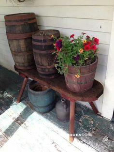 Photo via Painted Keg Antiques