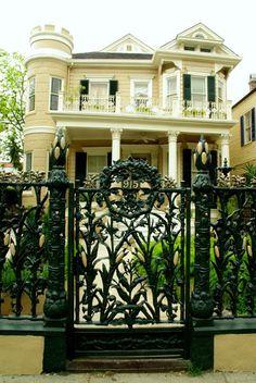 Cornstalk Gate, New Orleans, LA