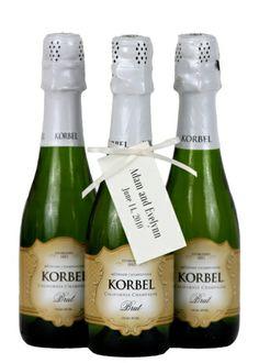 Case Korbel Brut - Wedding Favors (24 x 187ml -B) -- Korbel Champagne Cellars Online Store
