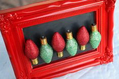 Christmas light magnets