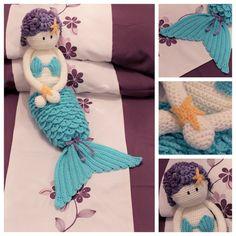 Crochet Mermaid Nightie Case or Doll - INSTANT DOWNLOAD PDF Pattern