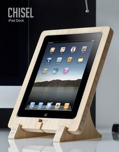 Would be cool for a kitchen iPad