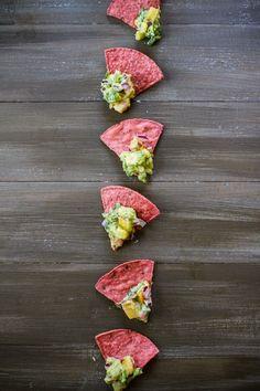 Stone Fruit Summer Guacamole | edibleperspective.com