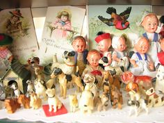 Love all the dolls and vintage toys.