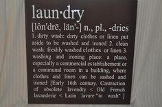 laundri sign, laundrymudroom idea, laundri room