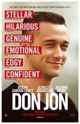 Don Jon Poster – There's more to life than a happy ending.