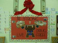 Red Ribbon Week wall poster ideas