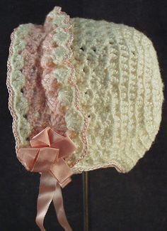 Vintage baby bonnet...too sweet!